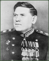 Portrait of Marshal of Engineers Mikhail Petrovich Vorobev